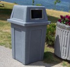 Economical Outdoor Recycling & Waste Bin