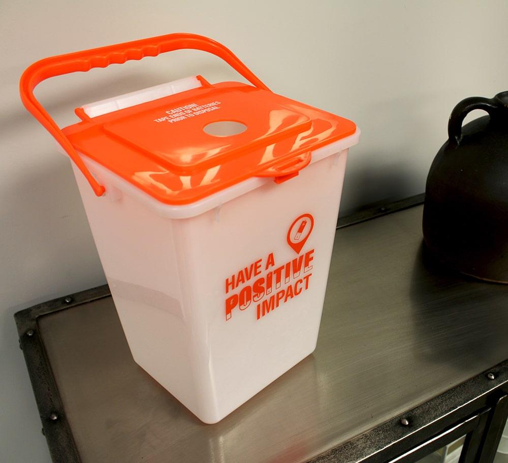 Battery Recycling Bin Busch Systems Usa